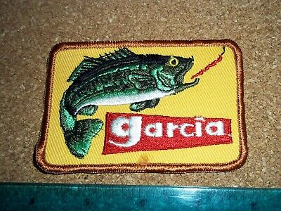 $ CDN19.99 • Buy VINTAGE GARCIA FISHING TACKLE PATCH Old Lures Rods Reels Antique Abu Mitchell #2