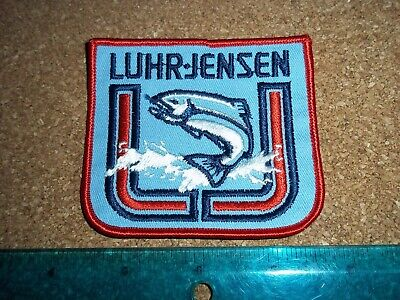 $ CDN19.99 • Buy VINTAGE LUHR JENSON FISHING TACKLE PATCH Old Lures Rods Reels Antique Crest