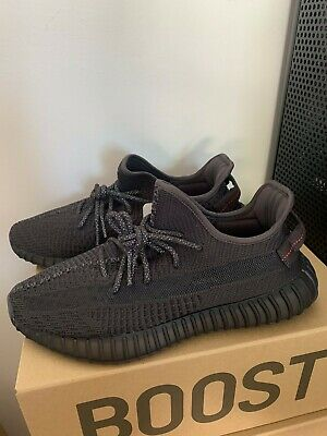 AU550 • Buy Adidas Yeezy Boost 350 V2 Black Non Reflective 100% Authentic Size 10 & 9