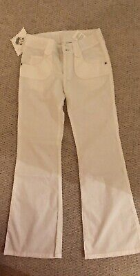 £10.50 • Buy Replay And Son White Trousers, Age 4-5, Brand New With Tags
