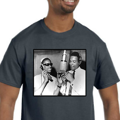£15.57 • Buy Stevie Wonder / Marvin Gaye T-Shirt NEW (NWT) *Pick Your Color & Size*