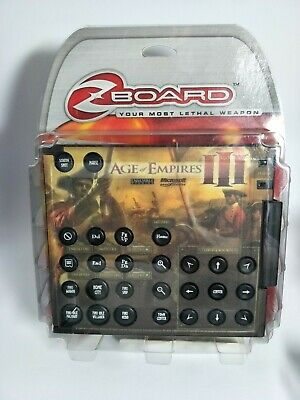 Zboard Age Of Empires III Limited Edition Keyset - Requires Zboard Base • 33.86£