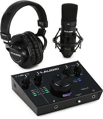 $219 • Buy M-Audio AIR 192 4 Vocal Studio Pro - Complete Vocal Production Package