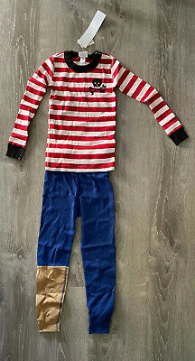 $24.99 • Buy New Boys Hanna Andersson PJs Pajamas Pirate 110cm US 5T