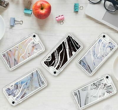 AU3.99 • Buy Marble Dynamic Glitter Quicksand Liquid Case Cover IPhone X Xr Xs Max 7 8 Plus