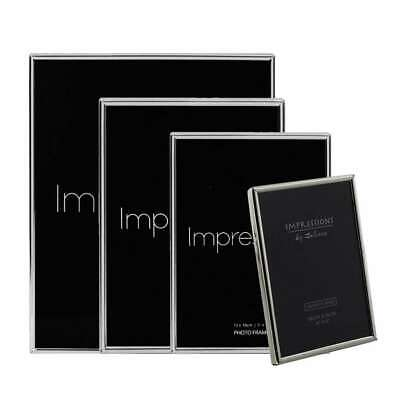 £8.39 • Buy Impressions By Juliana | Silver Plated Photo Frame Collection | Thin Edged