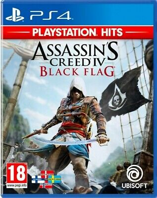 Assassins Creed IV Black Flag PS4 HITS ☆☆SUPERFAST & FREE DELIVERY☆☆ **MINT** • 10.49£