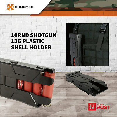AU25.16 • Buy Xhunter Tactical Shotgun Shell 12G Ammo Quick Reload Holder Carrier Pouch Black