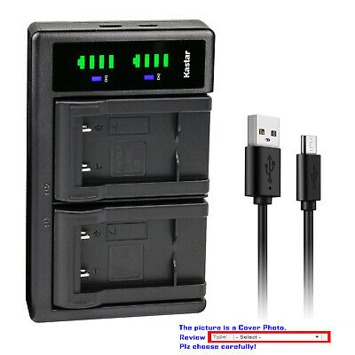 $ CDN21.66 • Buy Kastar Battery LCD Dual Charger For Casio NP-80 CNP80 Casio Exilim EX-N20 Camera