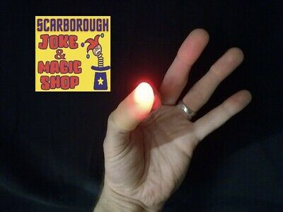 £6.99 • Buy The Ghost Light Magic Trick ~ Light Up Thumb Tips Pair ~ Lights From Anywhere