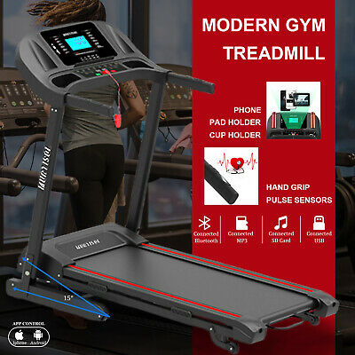 AU549.90 • Buy Electric Treadmill Auto Incline Foldable Home Gym Run Exercise Machine Fitness