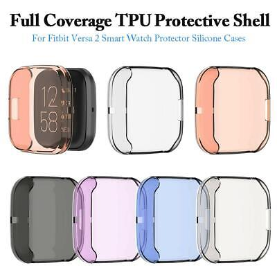 $ CDN8.71 • Buy For Fitbit Versa 2 Watch TPU Full Screen Protector Protective Frame Case Cover
