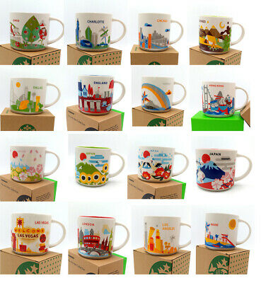 14oz London StarBK Mug You Are Here Collection Paris YAH England Coffee Cup • 7.99£