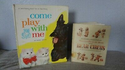 2--Come Play With Me (Mabel Watts) Whitman Giant Tell A Book 1963 • 6.22£