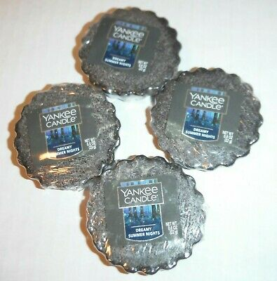 Dreamy Summer Nights Yankee Candle Lot 4 Wax Potpourri Scented Tart New Sealed  • 4.19£