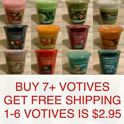 Yankee Candle 1.75 Oz Small Sampler Votive Scented Mini Candle U Choose Pick Any • 1.92£