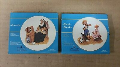 $ CDN20 • Buy Norman Rockwell Plates Collector Plates Lot Of 2