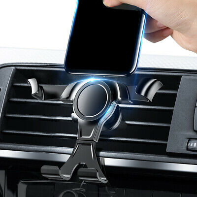 AU6.08 • Buy Gravity Car Bracket Phone Holder Air Vent Navi Mount For Smart Phone Accessories