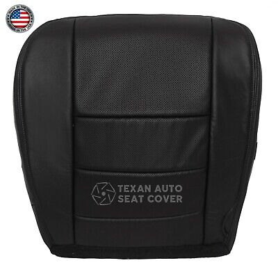 $119.99 • Buy 2005 2007 Ford F250 Lariat XLT Driver Bottom Perforated Leather Seat Cover Black