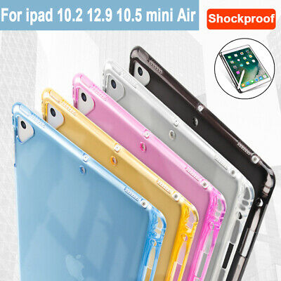 AU7.90 • Buy Transparent Case With Pencil Holder For IPad 10.2 Air 2 10.5 12.9 Rubber Cover