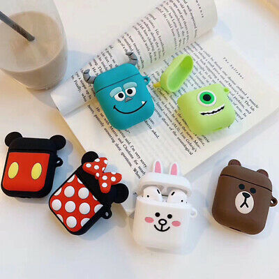 $ CDN3.53 • Buy For Apple AirPods Silicone Cartoon Wireless Headphone Earphone Case Cover Box