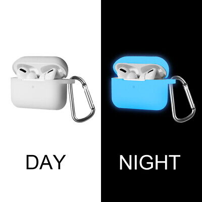 $ CDN11.34 • Buy For Apple AirPods PRO 2019 Glow In The Dark Soft Silicone TPU Rubber Case Cover