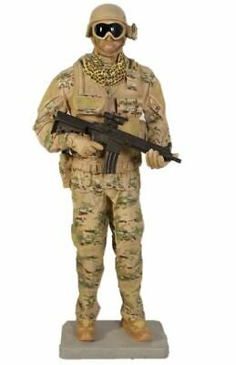 $1482.35 • Buy Soldier Tactical Life Size Military Prop Resin Decor Statue