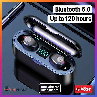 AU28.88 • Buy 【120hours ↑】Wireless Bluetooth 5.0 Earphones Headphones TWS 2000mAh Sport