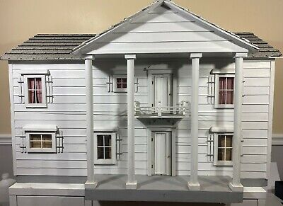 $450 • Buy Vintage 1979 Colonial Style Wooden Dollhouse Real Shingles Roof-local Pickup