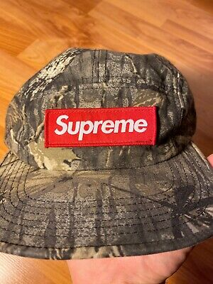 $ CDN187.71 • Buy Supreme Real Tree Camo Camp Hat FW11 2011 100% Authentic Signature Box Logo