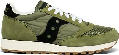 Saucony Jazz Original Vintage Trainer Olive/Black • 55.96£