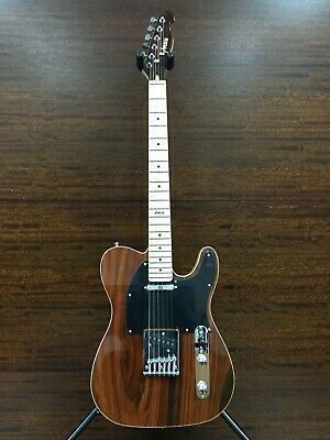 AU168.30 • Buy Haze 01M 830C Solid Body LightWeight T Style Electric Guitar,SS,CocoBolo Top+Bag