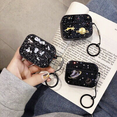 $ CDN6.53 • Buy For Apple AirPods Pro 1st 2nd Glitter Planet Epoxy Earphone Charging Case Cover