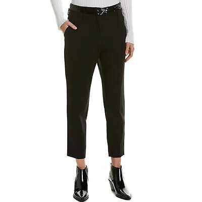 $ CDN74.10 • Buy Iro New Tili Sequin Pant Black 36