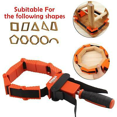 £12.59 • Buy Frame Picture Woodworking Band Strap Clamp Ratchet Corner Miter Mitre Vise Tool