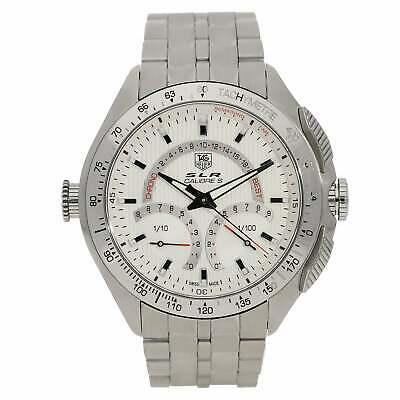 £1899 • Buy Tag Heuer Calibre S SLR CAG7011 Mens Watch - Silver Dial - 2011