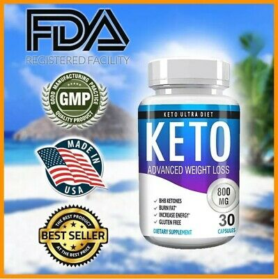 "$10.99 • Buy ☀Keto Diet Pills Burn Fat- Advanced Ketosis Weight Loss ""PURE KETO"" FAST KETOSIS"