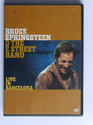 Bruce Springsteen - Live In Barcelona 2x DVD NTSC Region 1, With Booklet • 3.25£