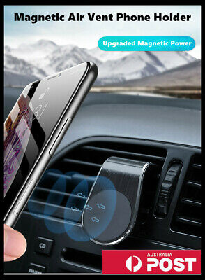 AU14.99 • Buy Universal Car Phone Holder Clip Air Vent 360° Magnetic Bracket Mobile Phone GPS