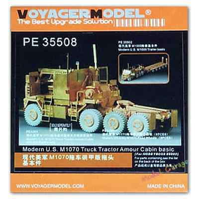 $46 • Buy 1/35 Voyager PE35508 US M1070 Truck Tractor Amour Cabin Detail Set