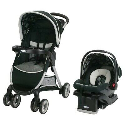 Graco FastAction Fold/Click/Connect Travel System • 186.38£