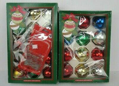 $ CDN24.49 • Buy Vintage Pyramid Christmas Decorative Ornaments - Lot Of 26 Multicolored