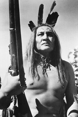 $ CDN30.14 • Buy Will Sampson B&W 18x24 Poster The Outlaw Josey Wales