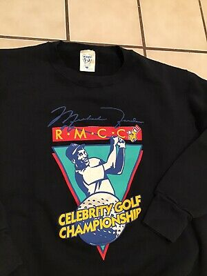 $79.99 • Buy VTG 90s Michael Jordan RMCC Celebrity Golf Championship Mcdonalds Sweatshirt M