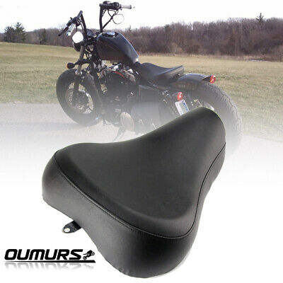 $107.95 • Buy Front Driver Solo Seat Leather Pillow For Harley Sportster XL 1200 883 1983-2003