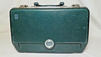 $9.99 • Buy Bundy Clarinet CASE ONLY, Green Plastic Exterior, Good Condition.