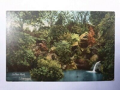 £4 • Buy Wrench Postcard Sefton Park Liverpool Merseyside With Halfpenny Stamp 1906