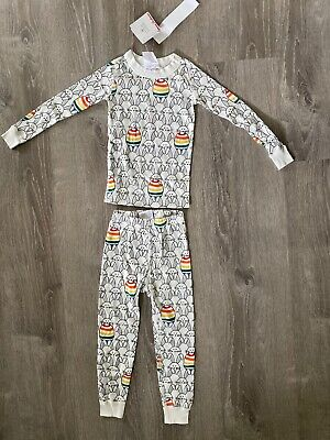 $19.99 • Buy New Unisex Hanna Andersson PJs Pajamas Bunny Easter Egg Organic Cotton US 4