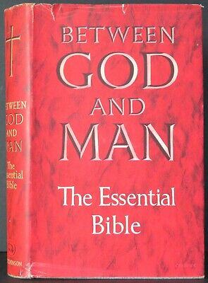 £24 • Buy Joseph McCulloch~Between God And Man The Essential Bible~Harold Wilson~Signed