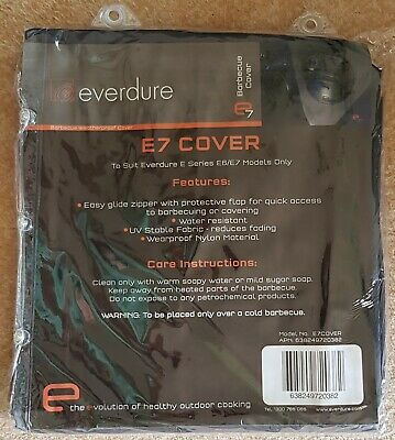 AU59.95 • Buy BBQ Cover EVERDURE E7 Premium Full Length 4 Or 6 Burner Universal BBQ Cover